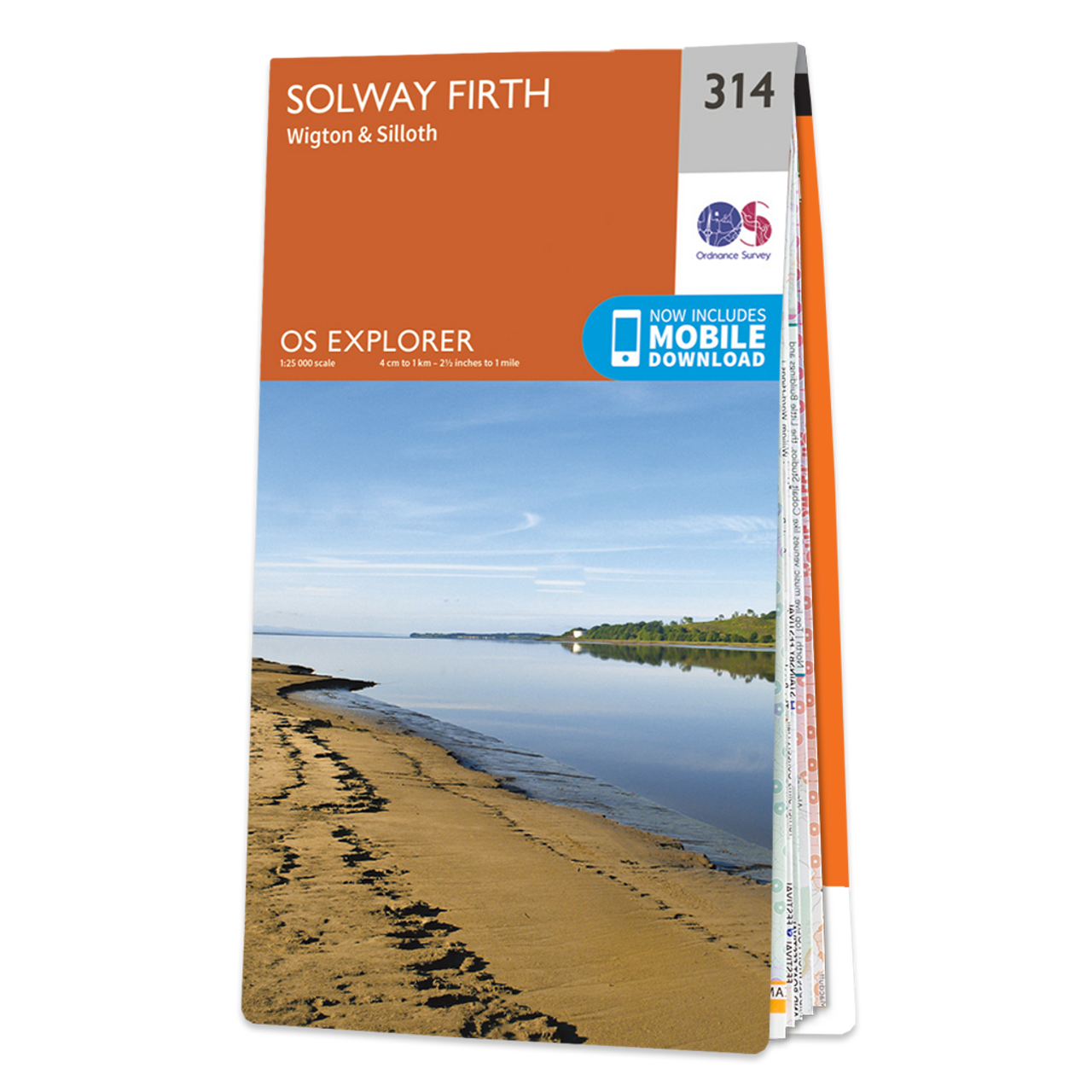 Map Of Solway Firth