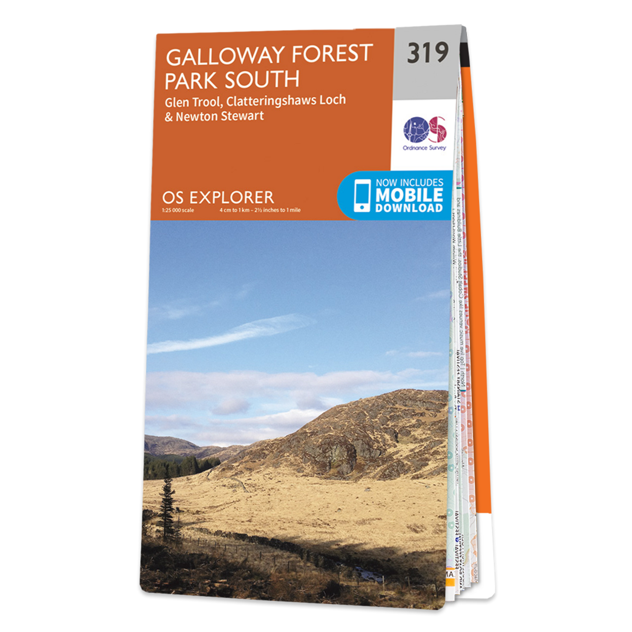 Map Of Galloway Forest Park South