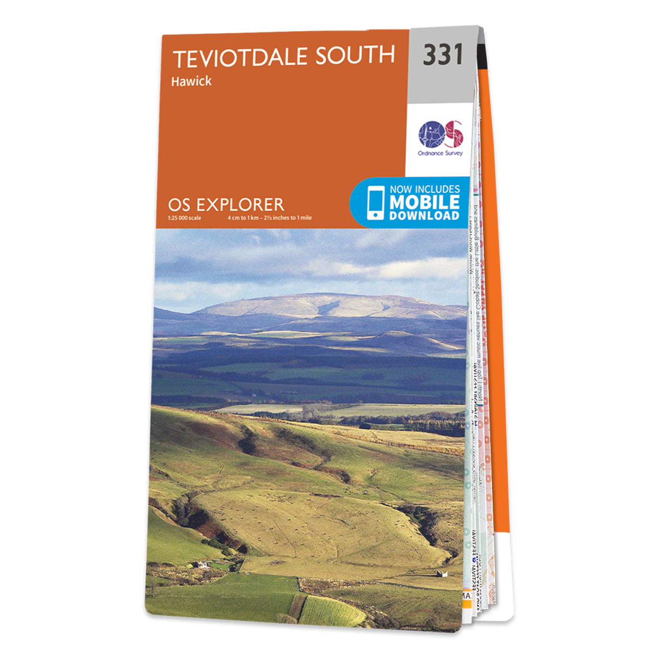 Map Of Teviotdale South