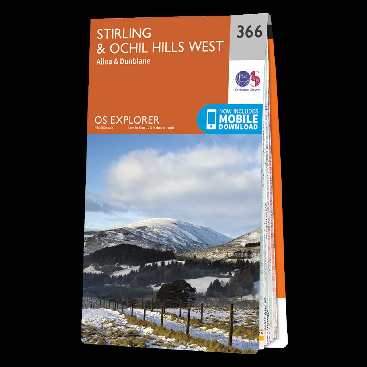 Map Of StirlingandOchil Hills West