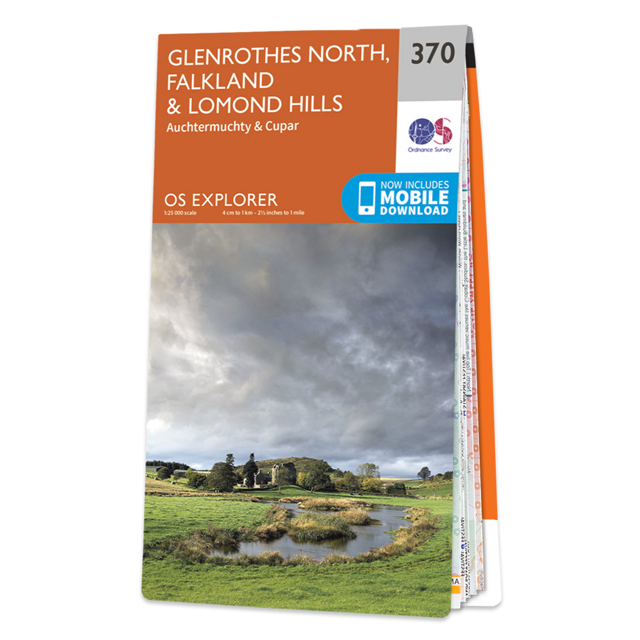 Map Of Glenrothes North  FalklandandLomond Hills