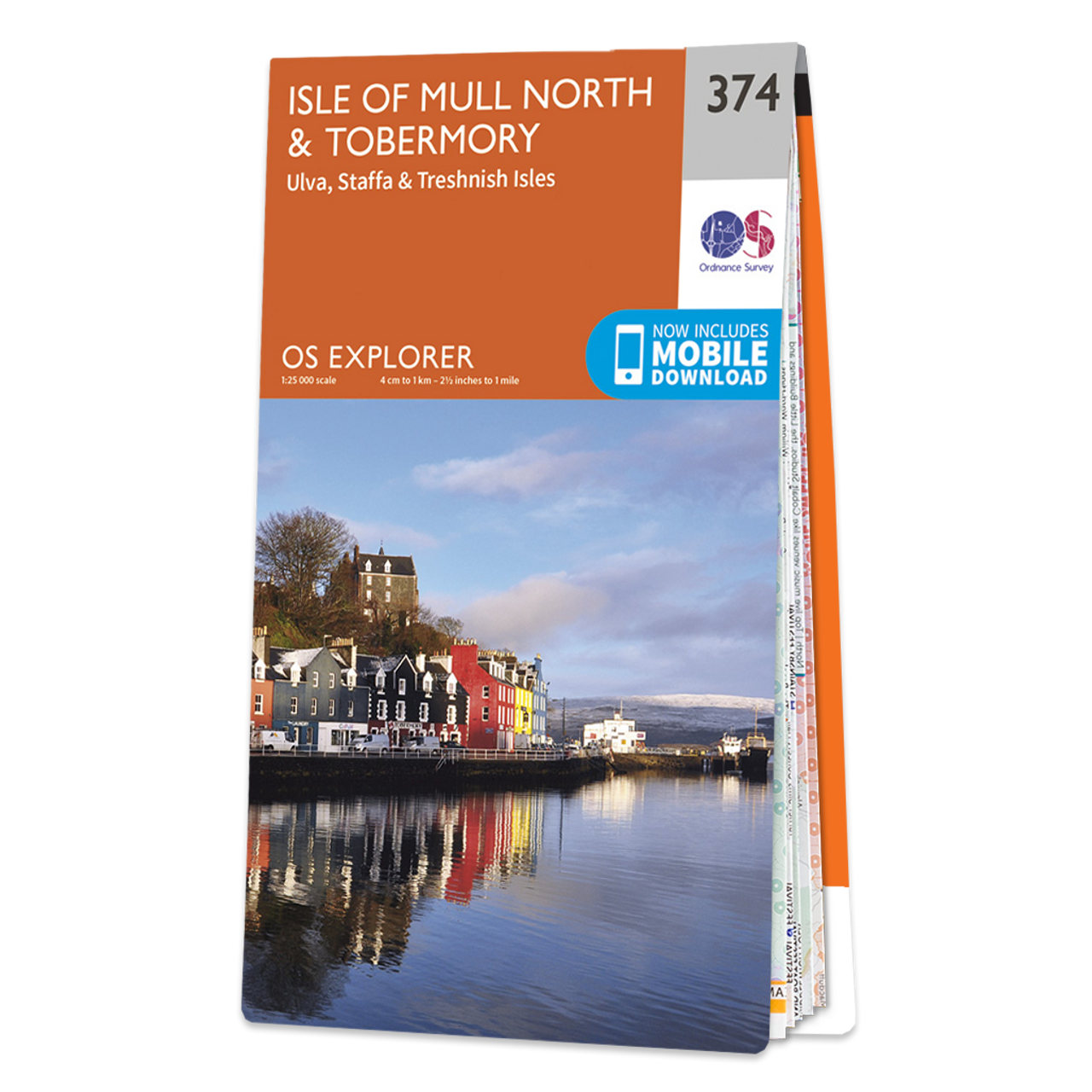 Map Of Isle Of Mull NorthandTobermory
