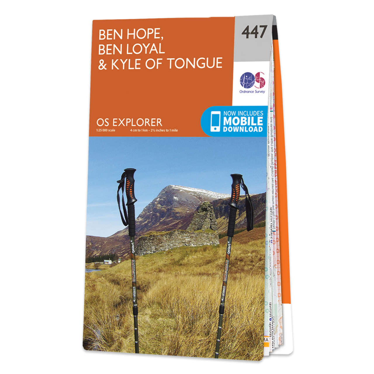 Map Of Ben Hope  Ben LoyalandKyle Of Tongue