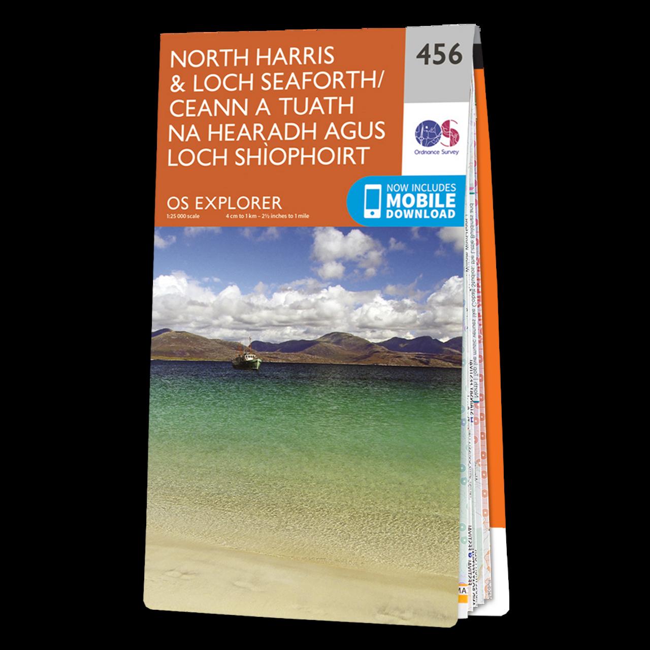 Map Of North HarrisandLoch Seaforth