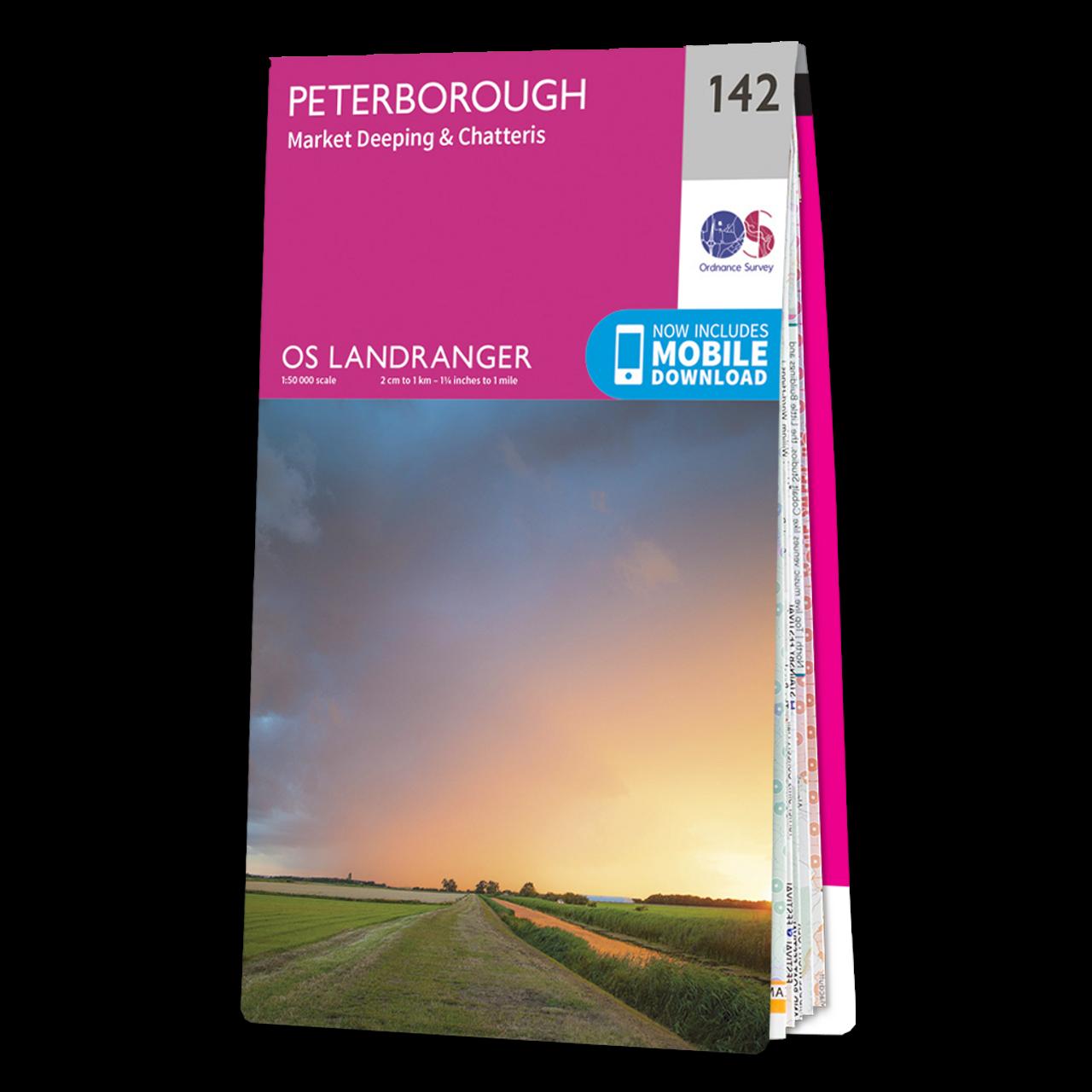 Map Of Peterborough -market DeepingandChatteris
