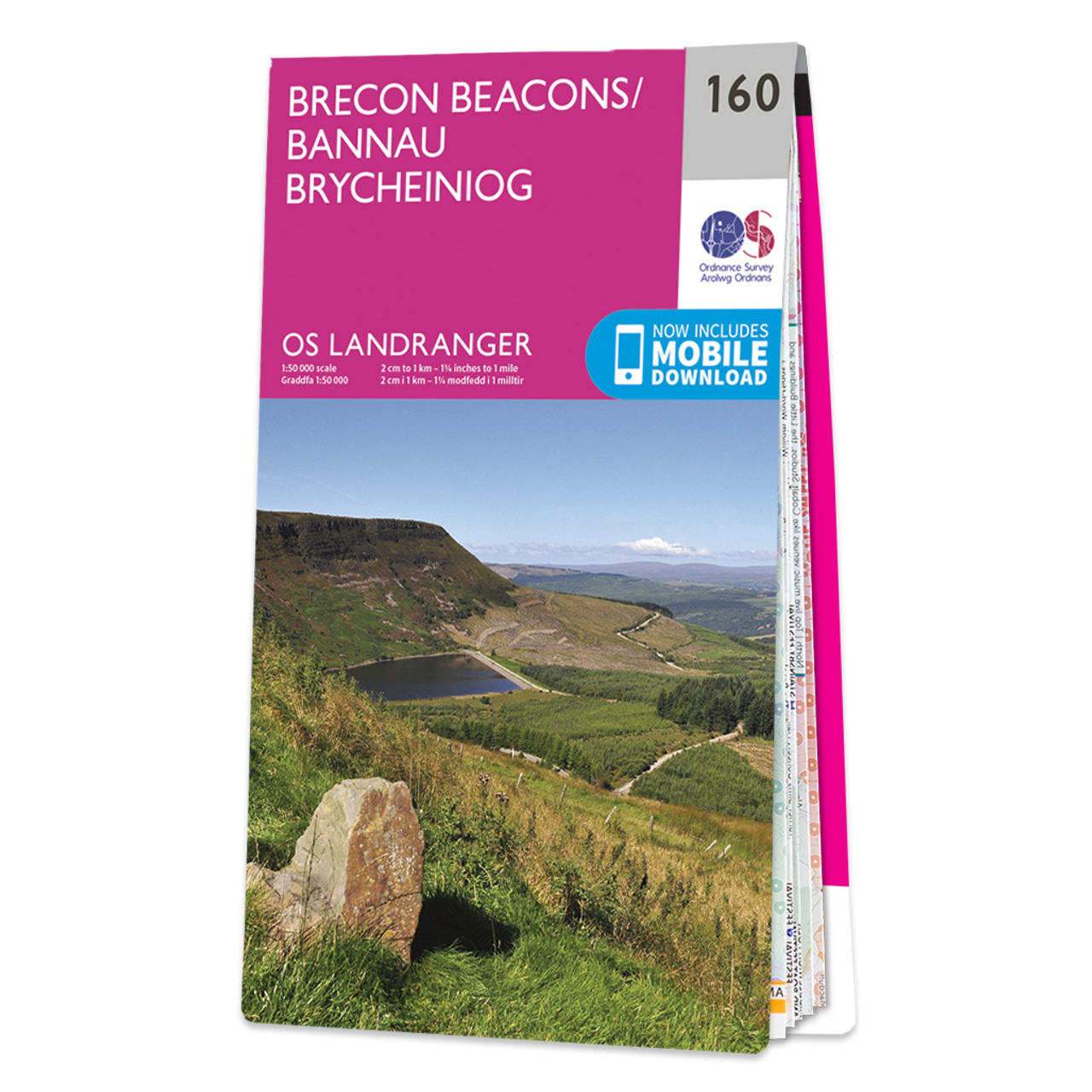Map Of Brecon Beacons