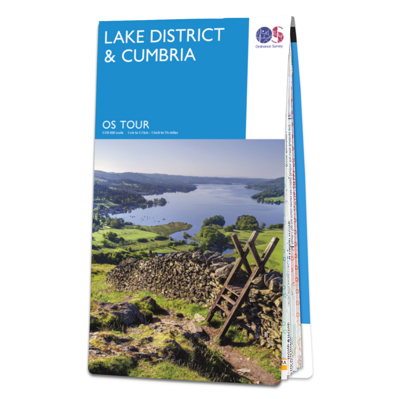 Map Of Lake DistrictandCumbria