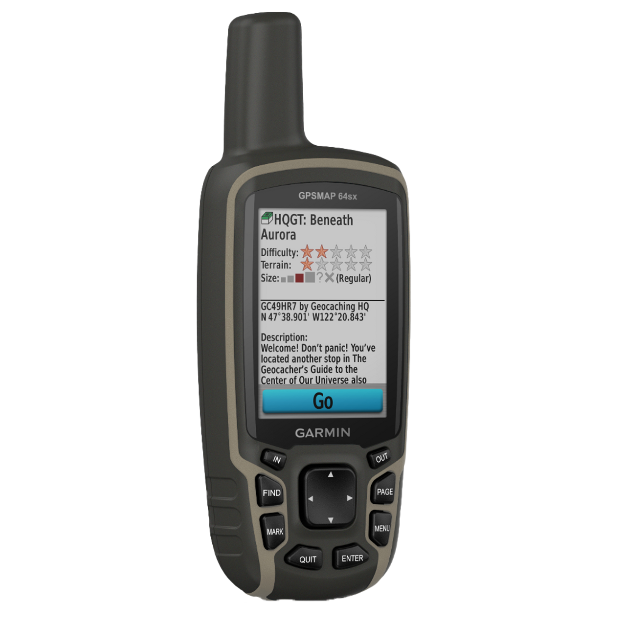 Garmin GPSMAP 64sx GPS