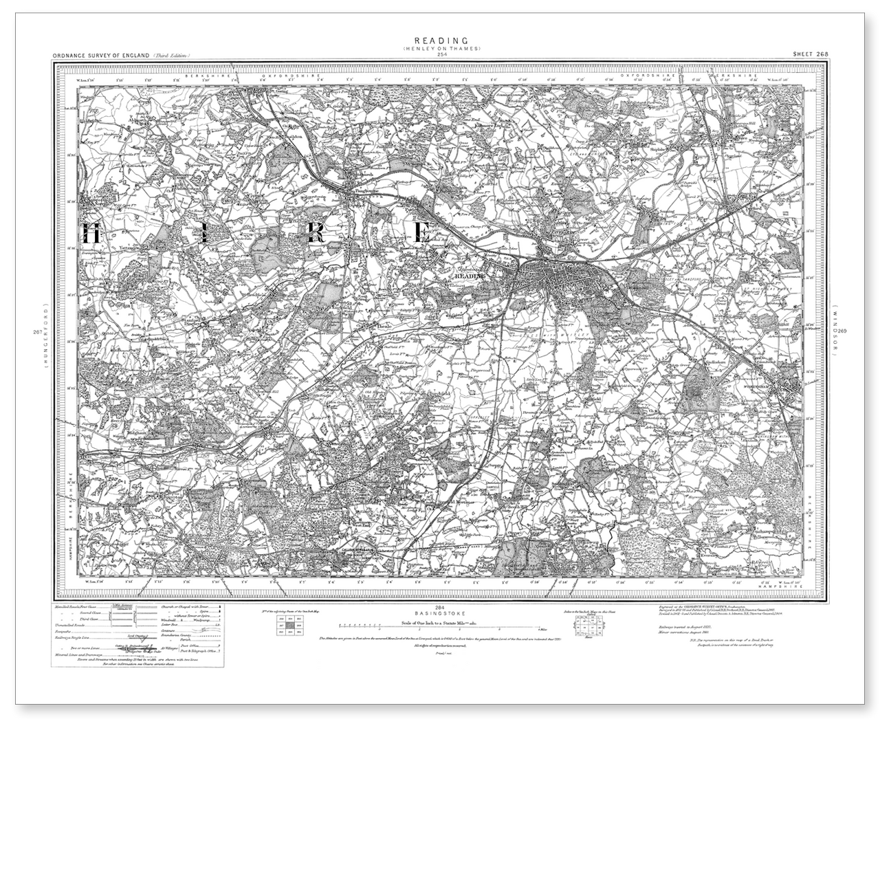 Map Of Lands End 1896-1904