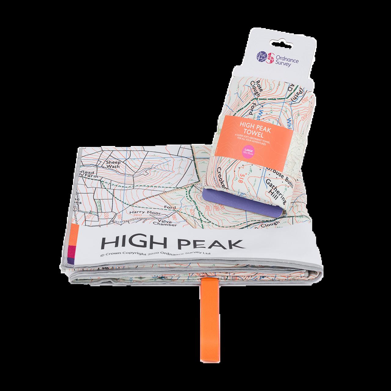 Os High Peak Large Towel