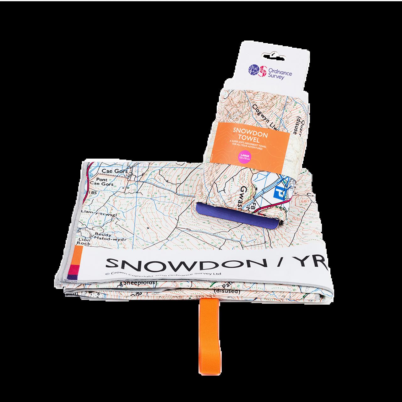 Os Snowdon Large Towel
