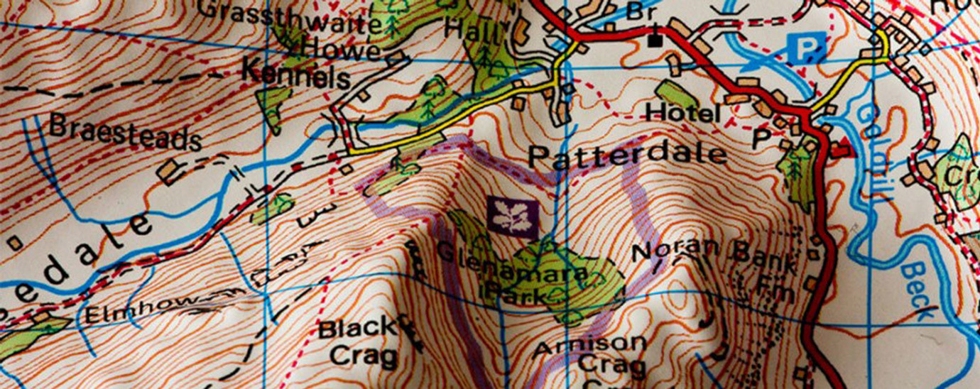 3D Relief Maps