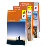 OS Explorer Dartmoor map set