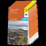 OS Explorer Loch Lomond and The Trossachs map set