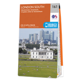 Map of London South