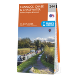 Map of Cannock Chase & Chasewater