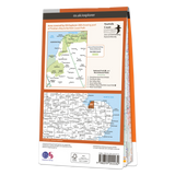 Map of Norfolk Coast West