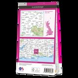 Map of Winchester & Basingstoke