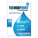 Toughprint Waterproof Paper for inkjet A4