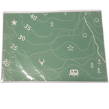 Ordnance Survey mappy wrapping paper