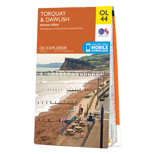 Map of Torquay & Dawlish