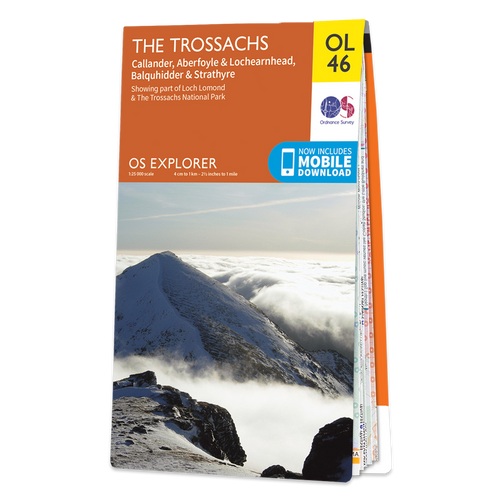 Map of The Trossachs