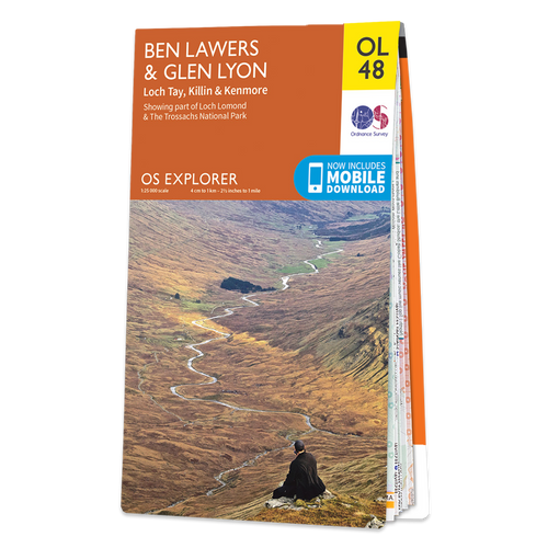Map of Ben Lawers & Glen Lyon