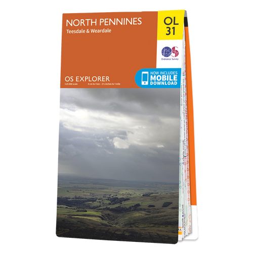 Map of North Pennines