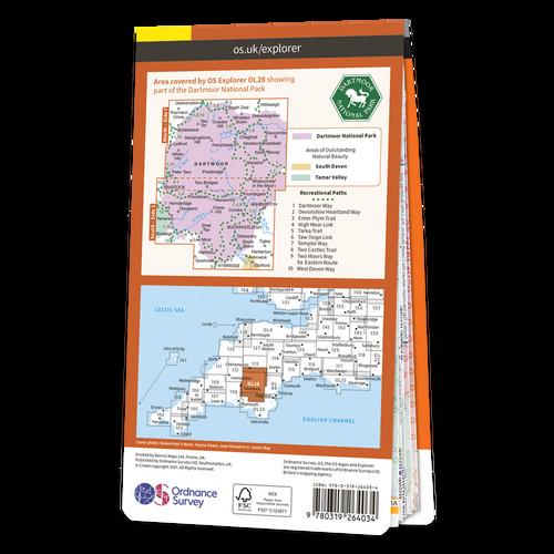 Map of Dartmoor