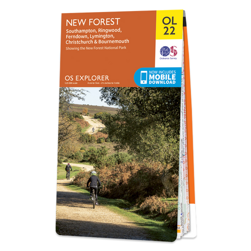 Map of New Forest