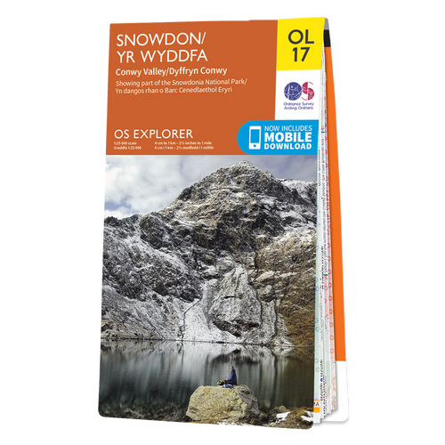 Map of Snowdon