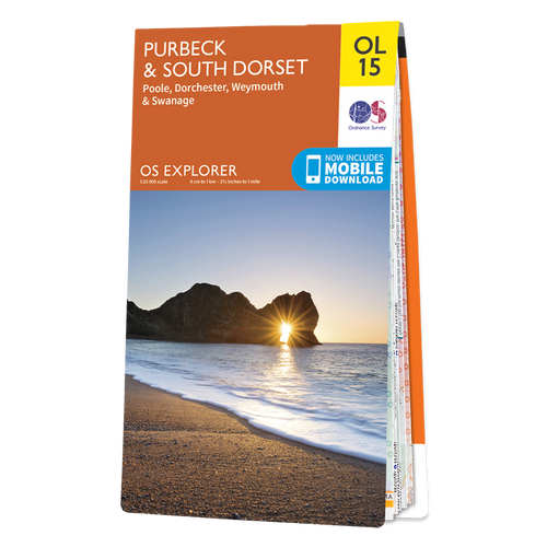 Map of Purbeck and South Dorset
