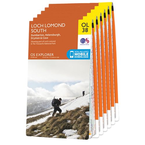 OS Explorer West Highland Way map set