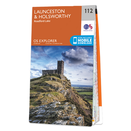 Map of Launceston & Holsworthy