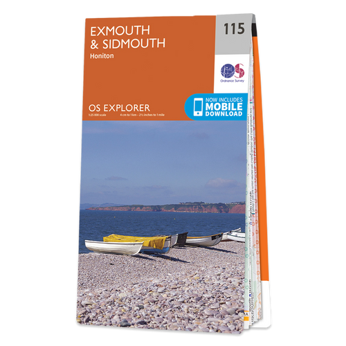 Map of Exmouth & Sidmouth