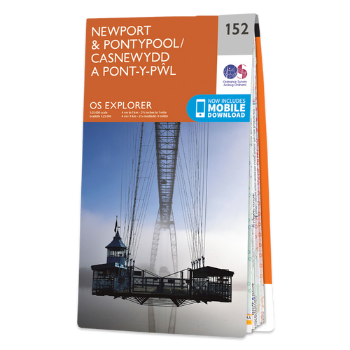 Map of Newport & Pontypool