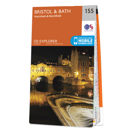 Map of Bristol & Bath Keynsham & Marshfield