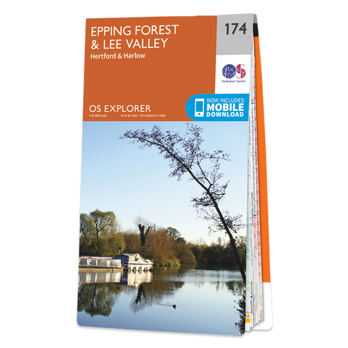 Map of Epping Forest & Lee Valley