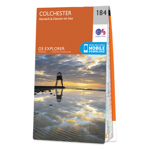 Map of Colchester Harwich & Clacton-on-Sea
