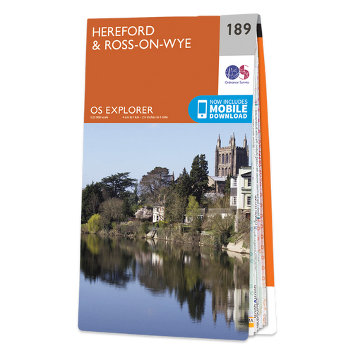 Map of Hereford & Ross-on-Wye