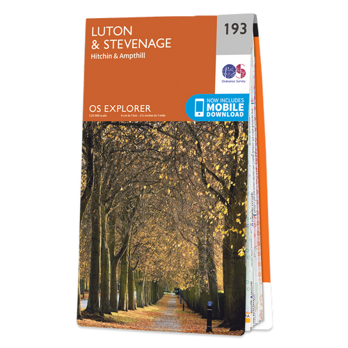 Map of Luton & Stevenage
