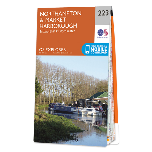 Map of Northampton & Market Harborough