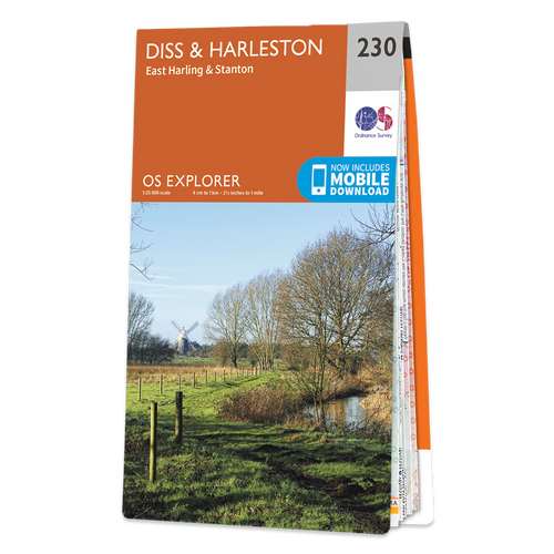 Map of Diss & Harleston