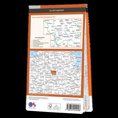 Map of Nuneaton & Tamworth
