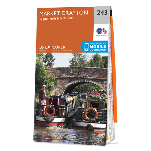 Map of Market Drayton