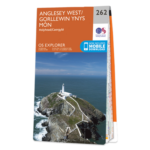 Map of Anglesey West