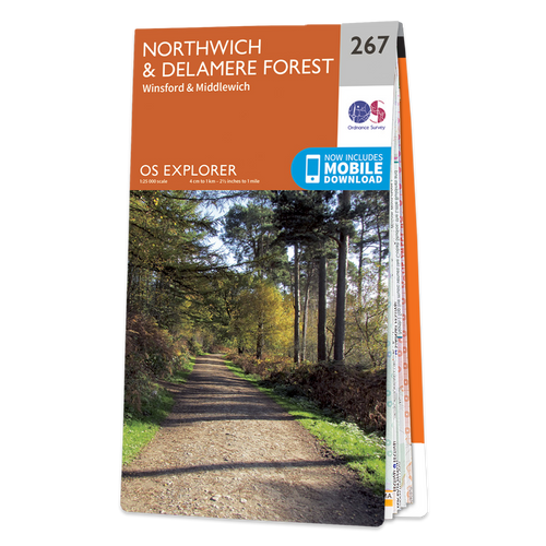 Map of Northwich & Delamere Forest