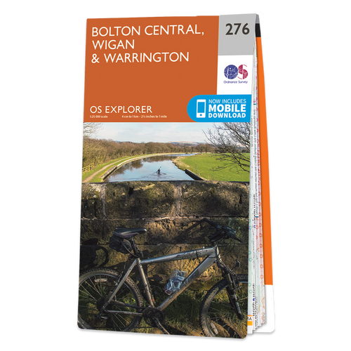 Map of Bolton Central, Wigan & Warrington