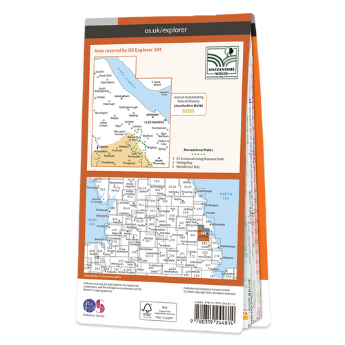 Map of Grimsby, Cleethorpes & Immingham