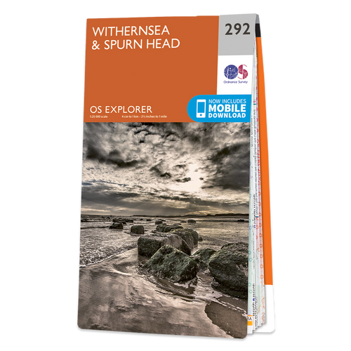 Map of Withernsea & Spurn Head